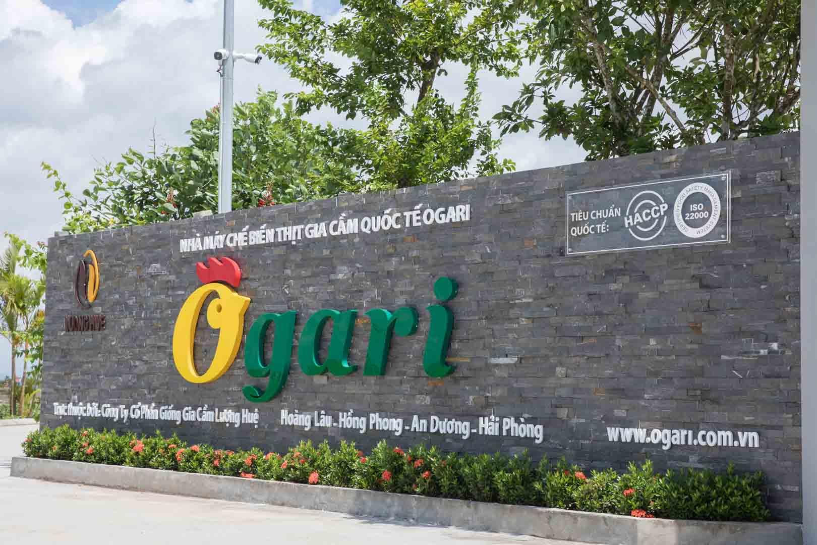 Nhà máy chế biến thịt gia cầm quốc tế Ogari